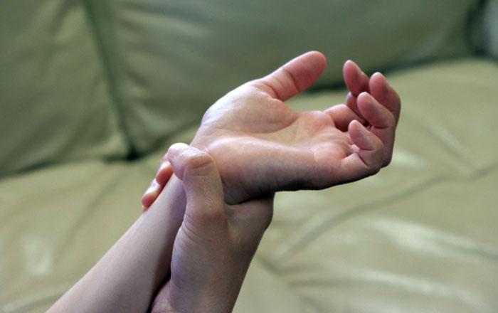 手足の後遺症