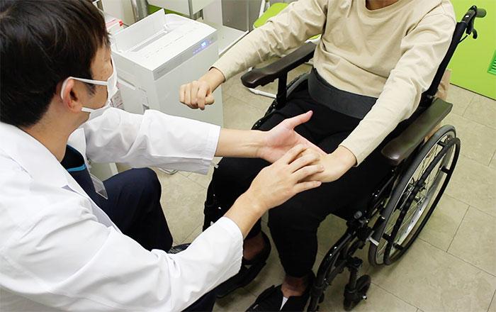 診察 車椅子